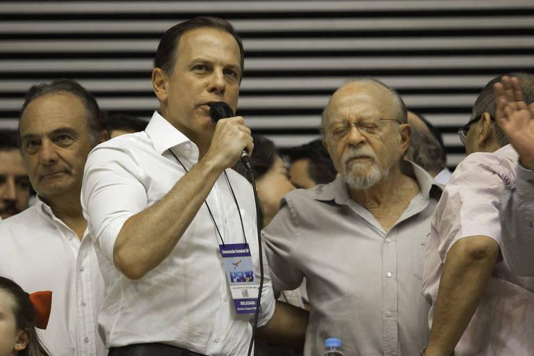 Eleições | SP: Deputados tucanos pedem a Doria que se candidate ao governo