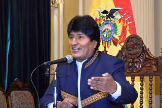 (1)BOLIVIA-LA PAZ-POLITICA-EVENTO