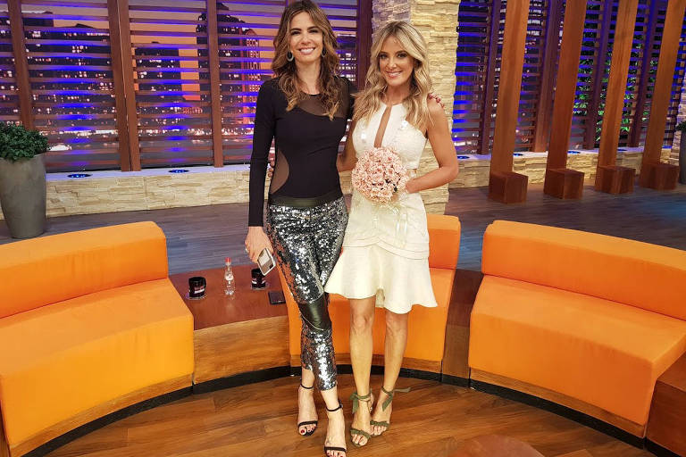 Convidados do programa 'Luciana By Night'