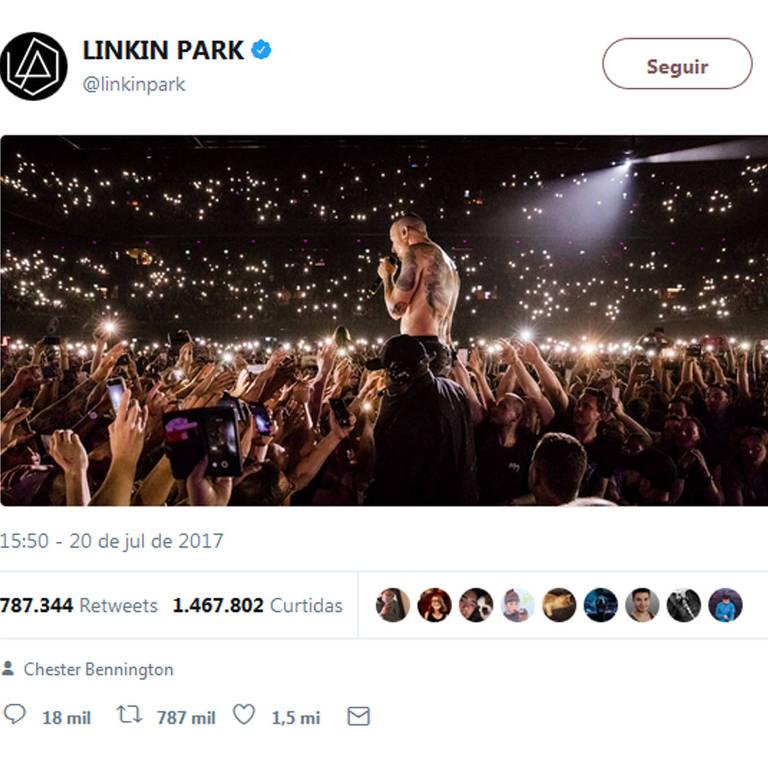 10 tweet mais populares no mundo em 2017