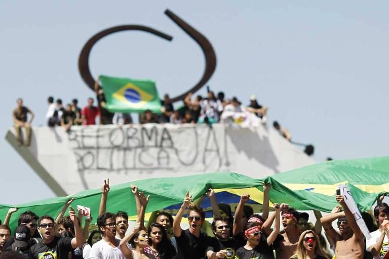 Protestos no Congresso Nacional
