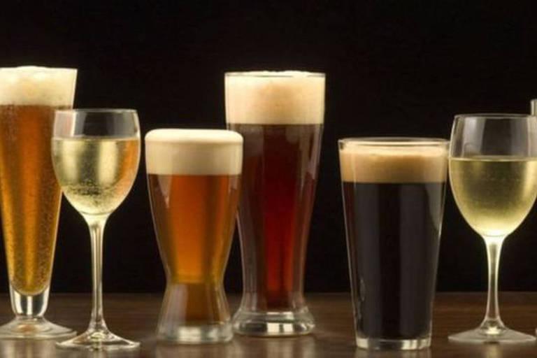 Ainda não há uma pesquisa especificamente sobre a mistura de cerveja e vinho e o efeito disso na ressaca