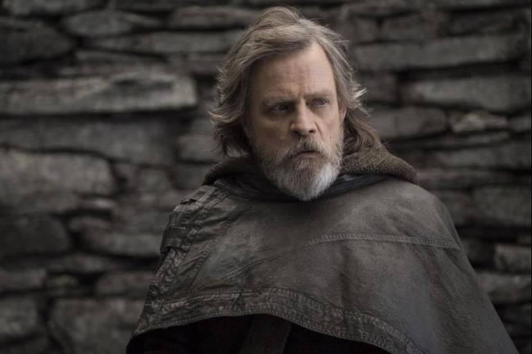"""Mark Hamill em """"Star Wars: The Last Jedi"""""""