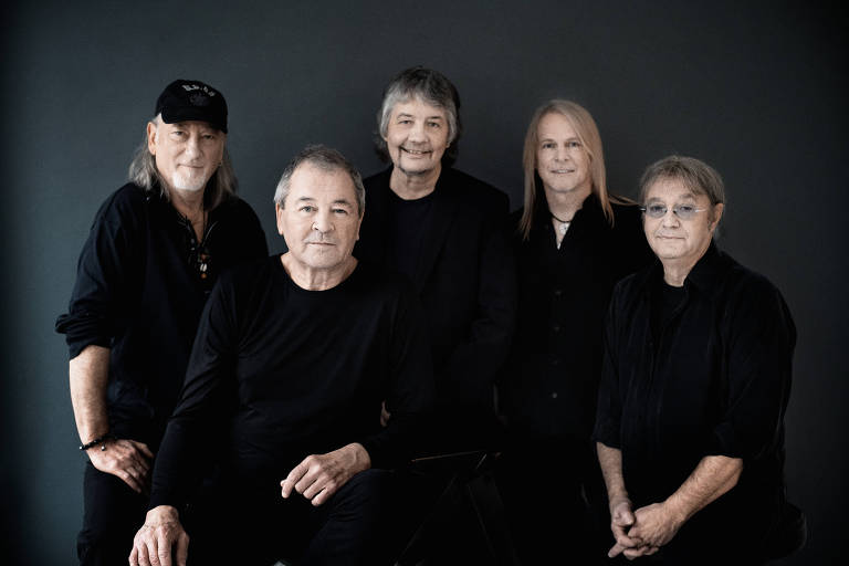 A banda britânica de hard rock Deep Purple é o destaque do festival Solid Rock