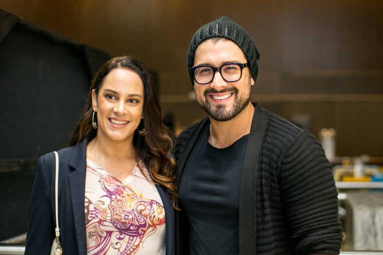 Silvia Abravanel e Edu Pedroso