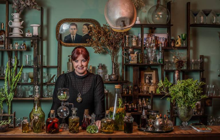 Neli Pereira, bartender do Espaço Zebra