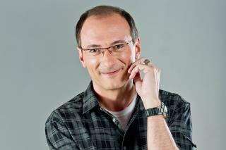 O apresentador Britto Jr., 52, que está com dengue