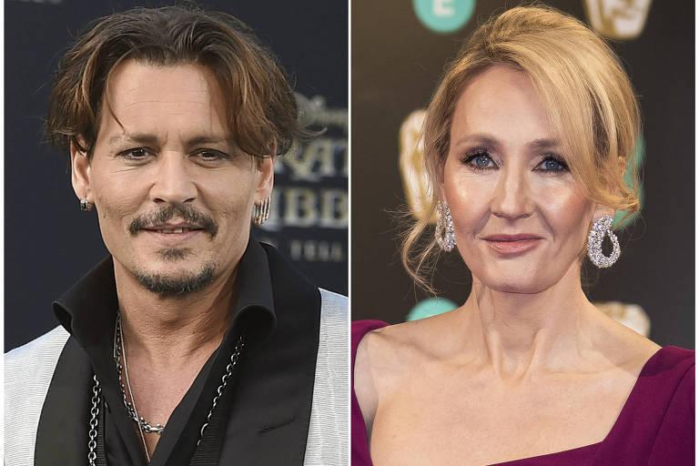 J. K. Rowling defendeu escolha de Depp em papel para novo filme da série