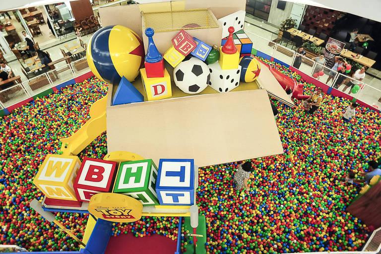 Shoppings oferecem atividades para as crianças