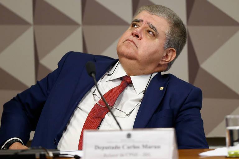 Carlos Marun em reunião da CPMI da JBS destinada a ouvir o ex-procurador Marcelo Miller