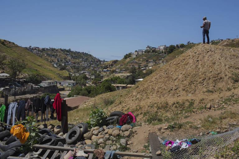 Haitianos vagam pelo continente
