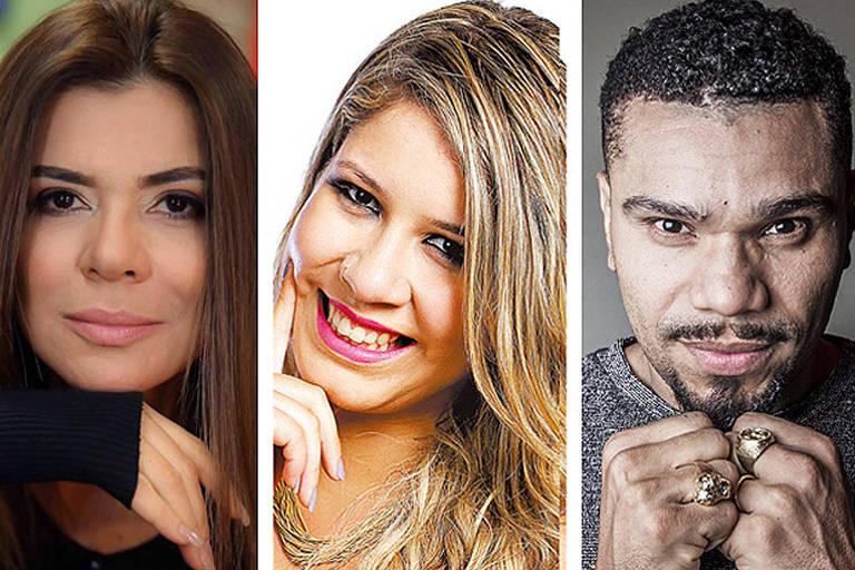 Mara Maravilha, Marilia Mendonça e Naldo