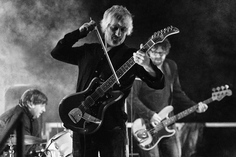 O músico Lee Ranaldo, ex-guitarrista do Sonic Youth