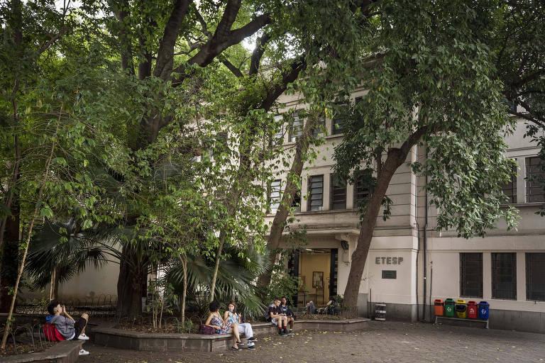 Etesp, escola técnica no Bom Retiro (centro) que teve a melhor nota entre as instituições públicas de SP no Enem