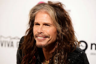 FILE PHOTO: Steven Tyler arrives at the Elton John AIDS Foundation Academy Awards Viewing Party in West Hollywood