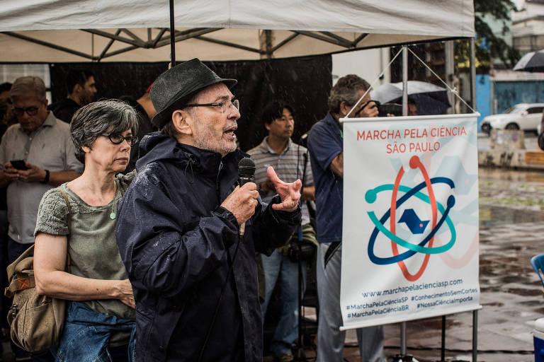Protestos pela ci�ncia em 2017