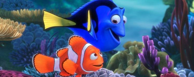 Cena do desenho animado 'Procurando Nemo'