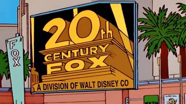 "Os Simpsons previram a compra da Fox pela Disney no quinto episódio da décima temporada, intitulado ""When You Dish Upon a Star"""