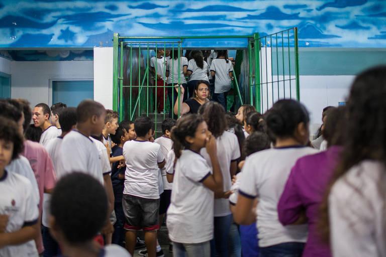 Escolas municipais em SP