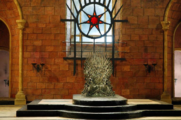 """Trono de """"Game of Thrones"""""""