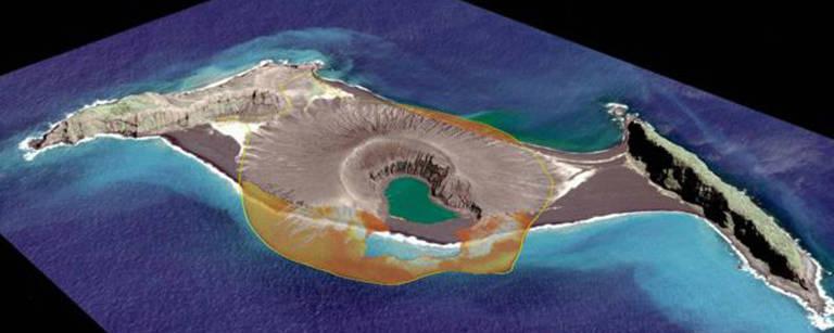 A ilha 'bebê' do Pacífico