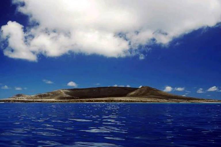 A ilha 'beb�' do Pac�fico