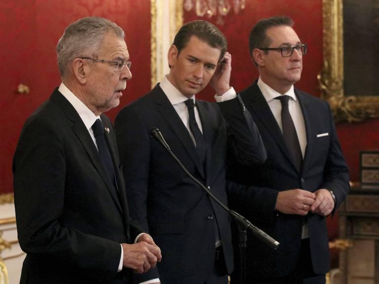 Pacto entre direita e extrema-direita na Áustria
