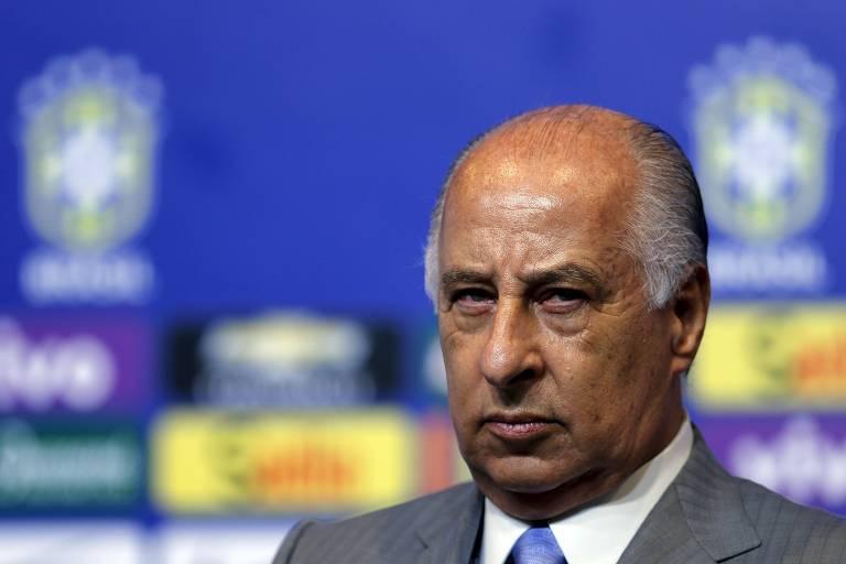 Marco Polo Del Nero, presidente da CBF que foi suspenso por 90 dias pela Fifa na �ltima sexta (15)