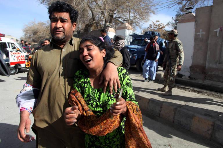 Ataque a igreja no Paquistão
