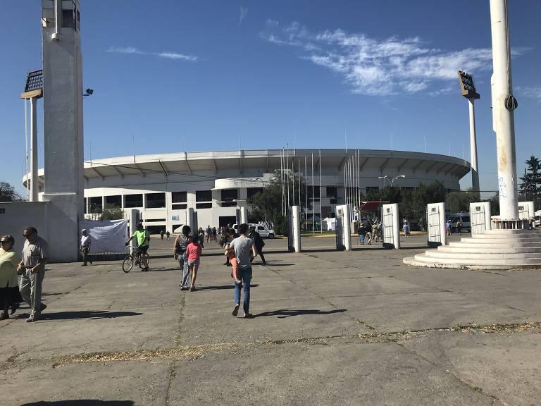 Eleição no Chile - Estádio Nacional