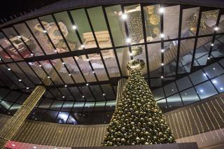 Falta de decoração de Natal