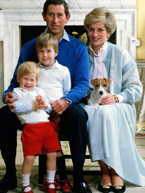 Cartões de Natal da Família Real Britânica