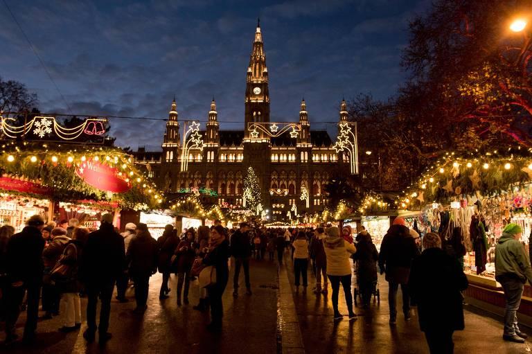 Cinco mercados de Natal na Europa
