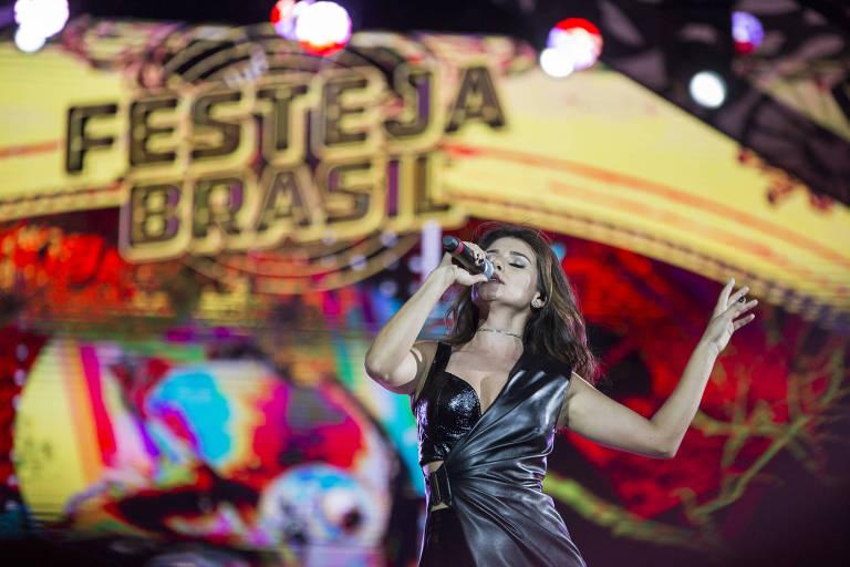 """Paula Fernandes participa do especial """"Festeja Brasil"""" na Globo"""