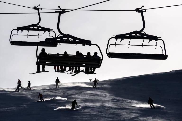 Esqui na Suíça