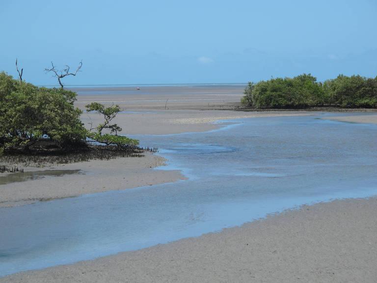 Icapuí, litoral do Ceará