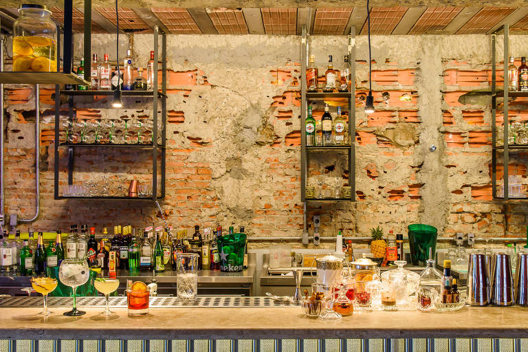 Ambiente Do Bar Benzina, Dos Sócios Do Bullguer, Na Vila Madalena   Lucas  Terribili/Divulgação