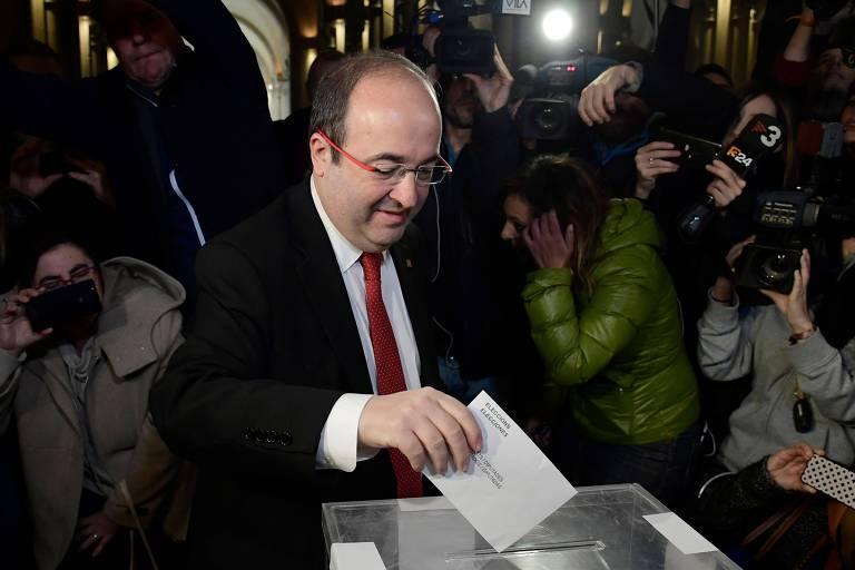 Eleição na Catalunha