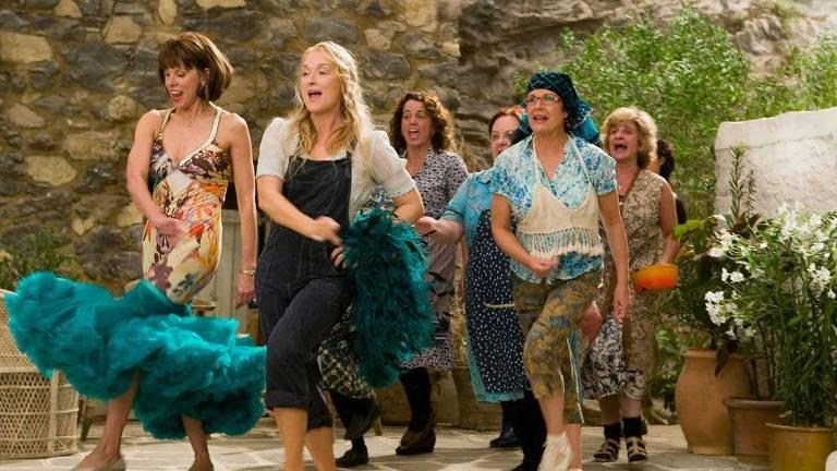 """O primeiro """"Mamma Mia"""" foi lançado em 2008 e tinha Maryl Streep como protagonista"""