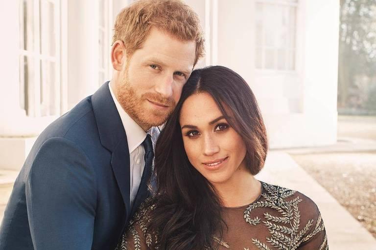 Príncipe Herry e Meghan Markle divulgam fotos oficiais do noivado