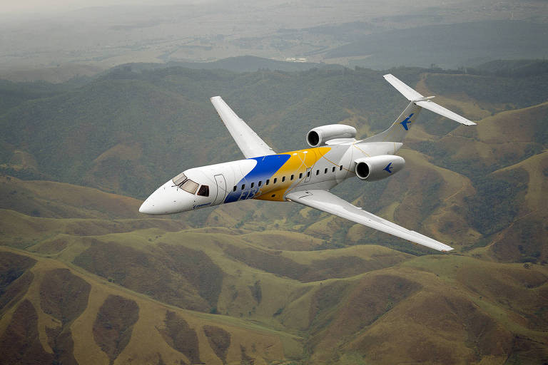 Jato executivo E135 da Embraer