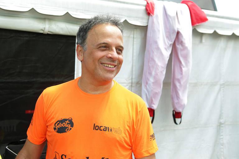 O ator Marcos Breda