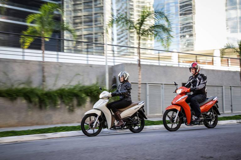Motocicleta scooter Honda Biz 2018