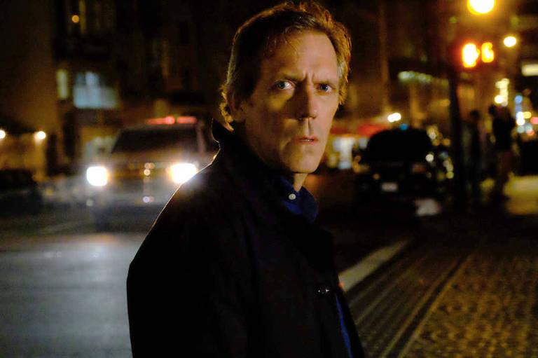 O ator Hugh Laurie