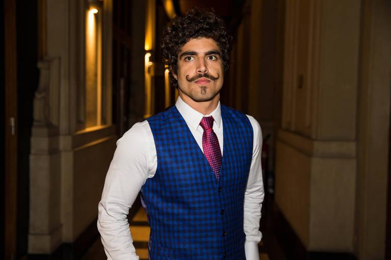 """O ator Caio Castro, que interpretou dom Pedro na novela """"Novo Mundo"""""""