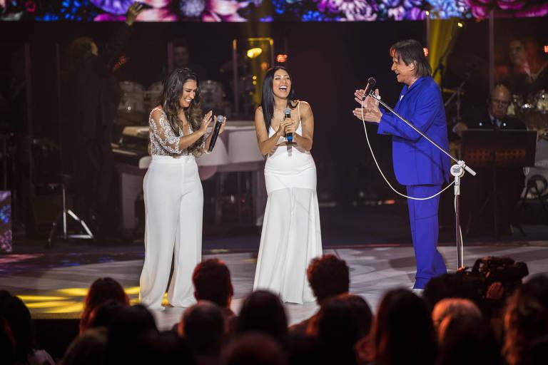 Roberto Carlos em especial de fim de ano da Globo