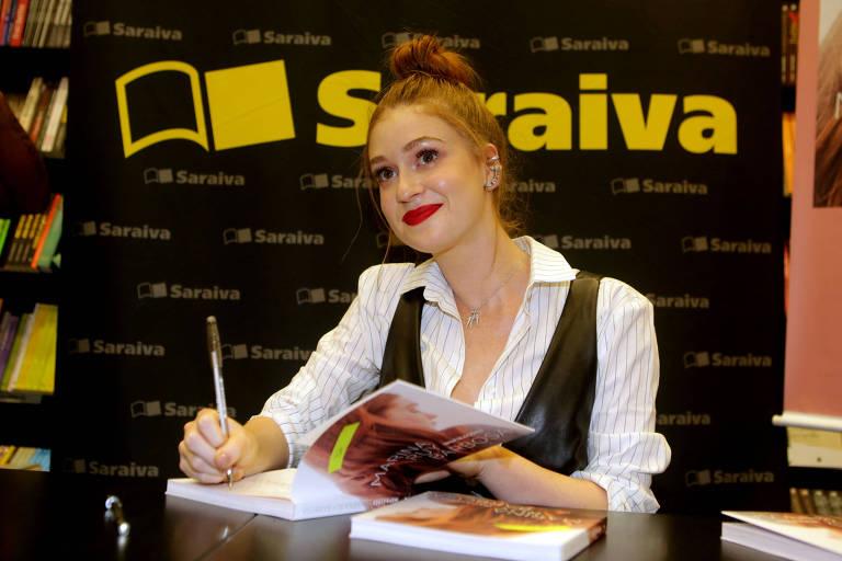 Lançamento do livro 'Inspirações' com Marina Ruy Barbosa em São Paulo