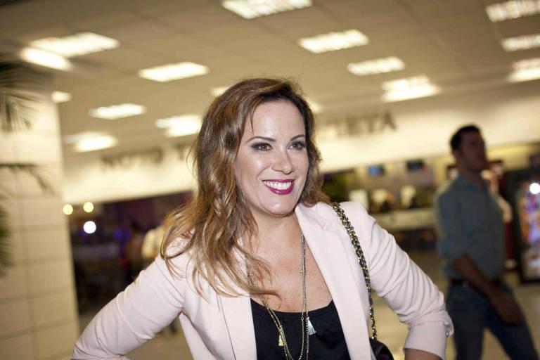 A jornalista e apresentadora Regina Volpato