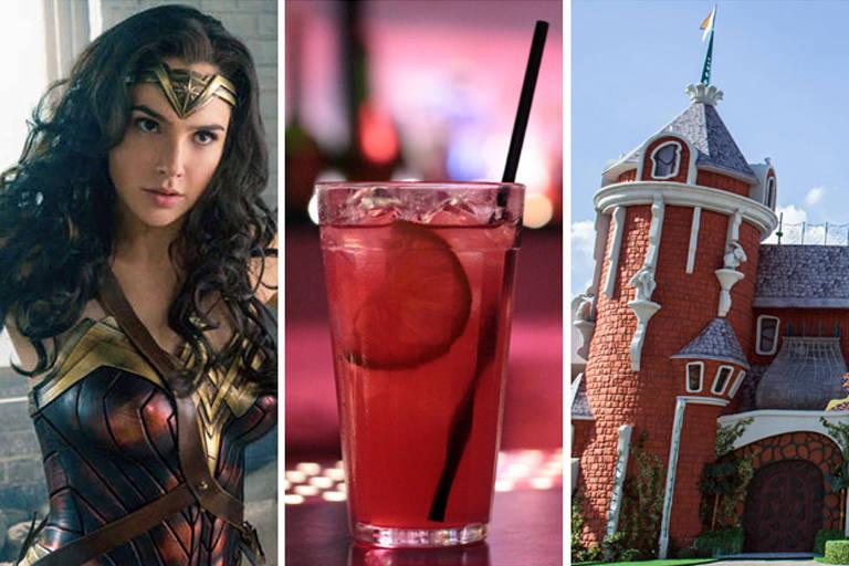 """""""Mulher-Maravilha"""", drinque do bar Buraco e """"Castelo Rá-Tim-Bum"""", vencedores pelo voto do público em suas categorias"""