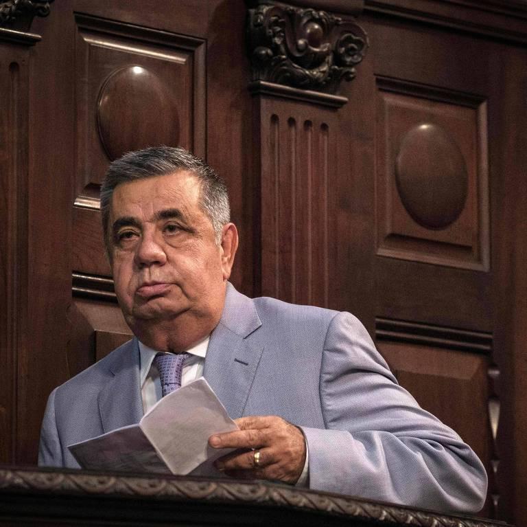Deputado Jorge Picciani, que está afastado da Assembleia Legislativa do Rio